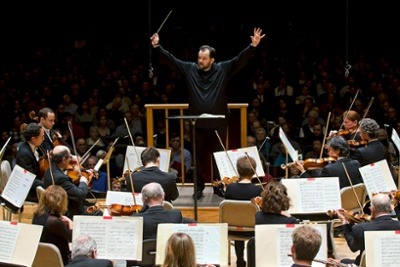 BSO Music Director Andris Nelsons leads the orchestra in Copland's Third Symphony, 2.7.19 (Winslow Townson)-1-2-1
