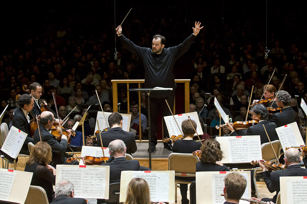 BSO Music Director Andris Nelsons leads the orchestra in Copland's Third Symphony, 2.7.19 (Winslow Townson)-1-2