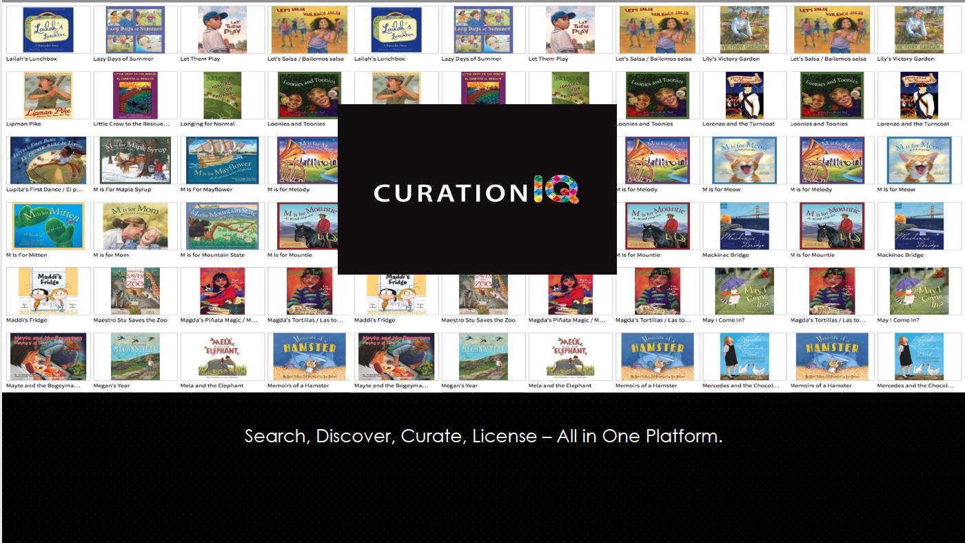 CurationIQ screen