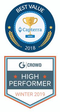 Best Value DAM Capterra Award
